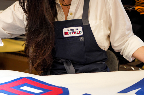 Made In Buffalo Embroidered Patch