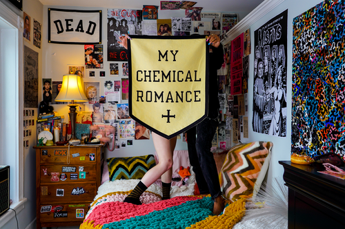 My Chemical Romance Championship Banner • My Chemical Romance x Oxford Pennant