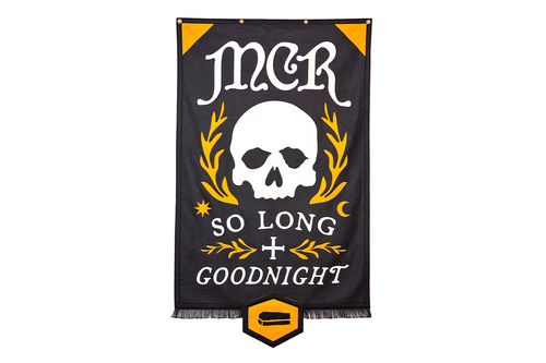 So Long Goodnight Championship Banner • My Chemical Romance x Oxford Pennant