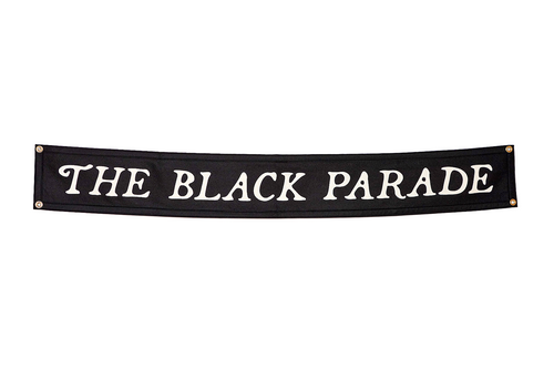 The Black Parade Championship Banner • My Chemical Romance x Oxford Pennant
