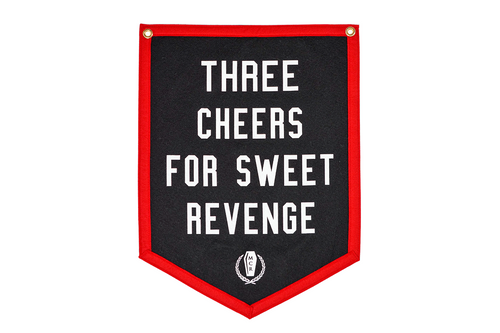 Three Cheers For Sweet Revenge Camp Flag • My Chemical Romance x Oxford Pennant