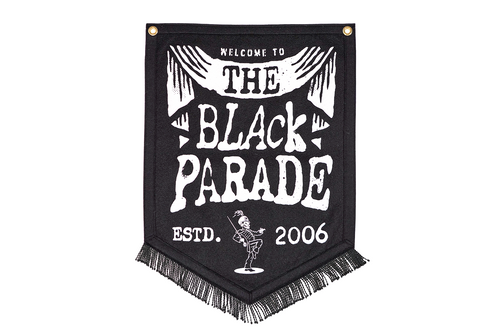 The Black Parade Established 2006 Camp Flag • My Chemical Romance x Oxford Pennant