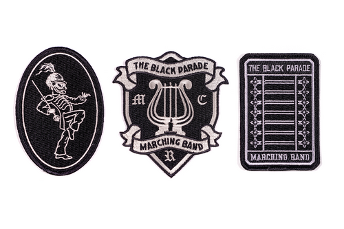 Black Parade Embroidered Patch 3-Pack • My Chemical Romance x Oxford Pennant