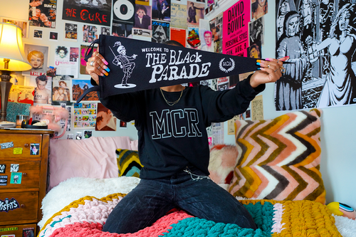Welcome To The Black Parade Pennant • My Chemical Romance x Oxford Pennant