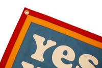 Kelle Hampton x Oxford Pennant - Yes You Can Camp Flag
