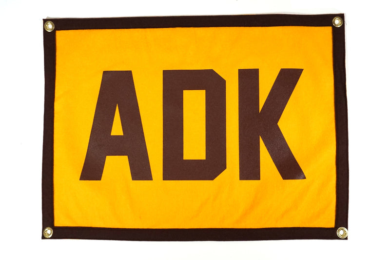 Adirondacks ADK Camp Flag • Oxford Pennant Original