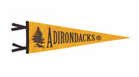 Adirondack Mountains Pennant - New York • Oxford Pennant Original