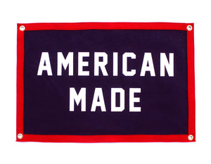 American Made Camp Flag • Oxford Pennant Original