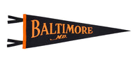Baltimore Pennant • Oxford Pennant Original