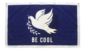 Be Cool Championship Banner - Peace • Oxford Pennant Original