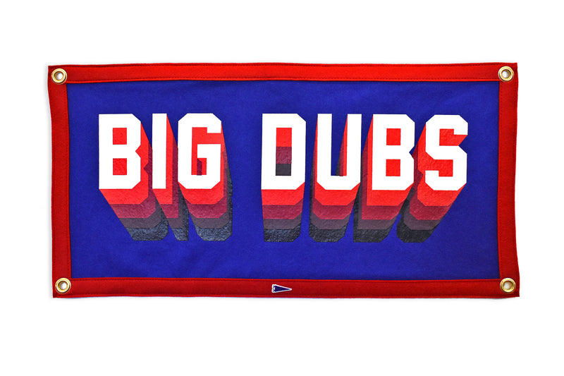 Big Dubs Camp Flag  • Oxford Pennant Original