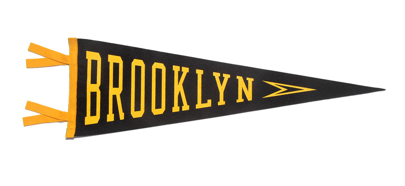 Brooklyn, NY Pennant - New York • Oxford Pennant Original