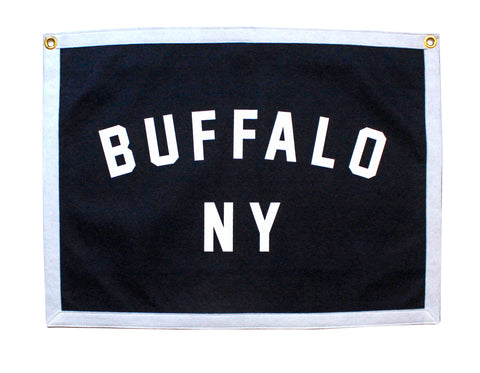 Buffalo, NY Camp Flag - New York • Oxford Pennant Original
