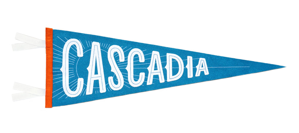 Cascadia Pennant • Invisible Creature x Oxford Pennant x Freeman