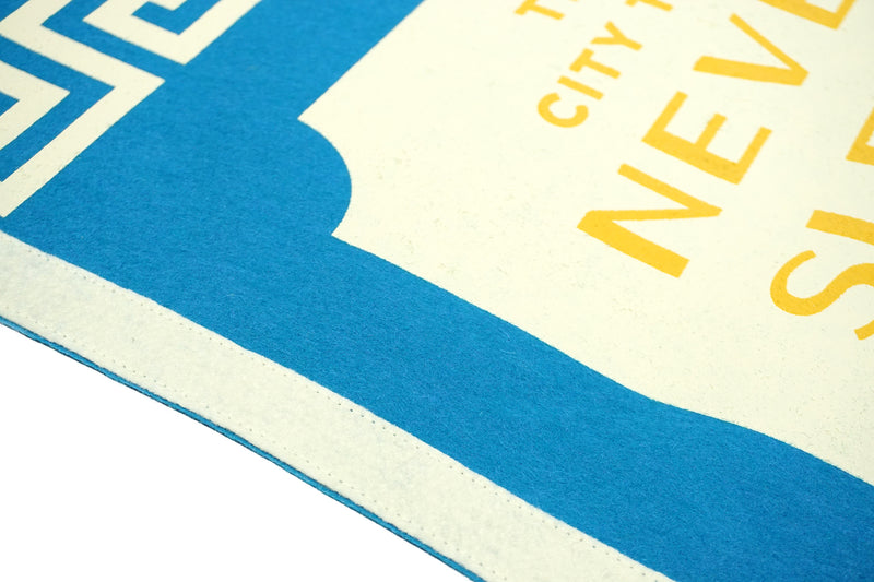The City that Never Sleeps Camp Flag • United By Blue x True Hand Society x Oxford Pennant Original