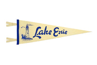 Lake Erie Lighthouse Pennant • Oxford Pennant Original