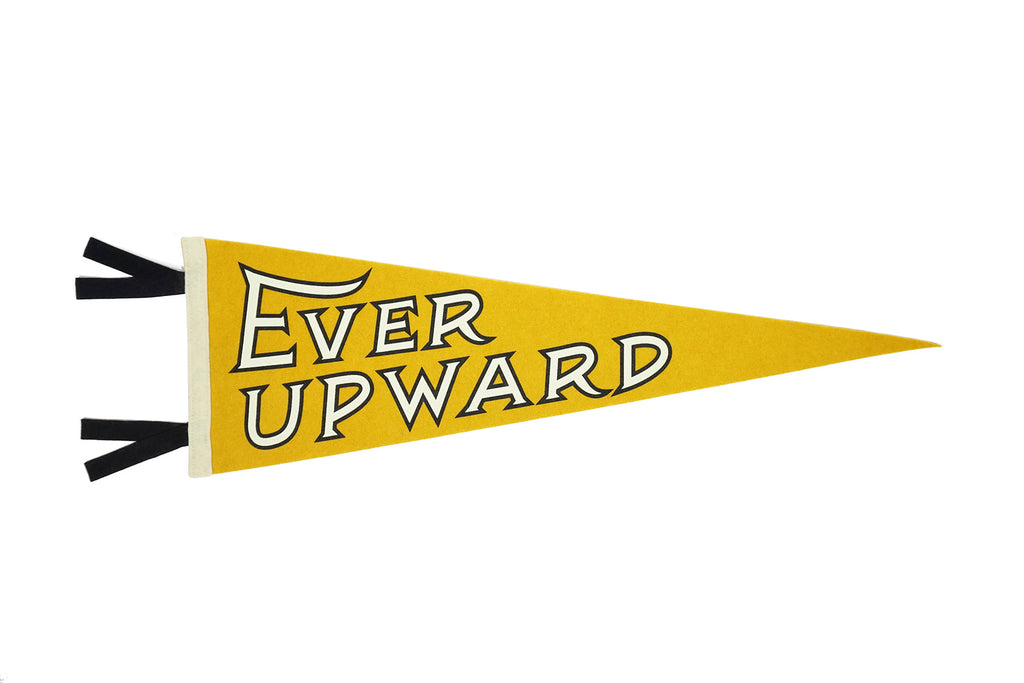 Ever Upward Pennant • United By Blue x True Hand Society x Oxford Pennant Original
