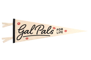 Gal Pals Wedding Pennant • Oxford Pennant Original