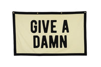 Give a Damn Championship Banner flag • Oxford Pennant Original