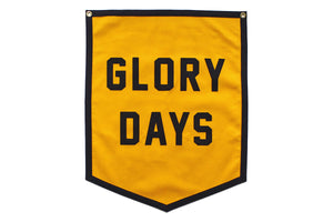 Glory Days Championship Banner flag • Oxford Pennant Original