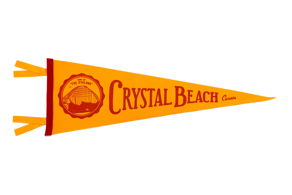 Crystal Beach Pennant • Oxford Pennant Original
