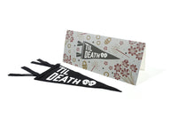Oxford Pennant - Greeting Card & Matching Mini Pennant - 'Til Death