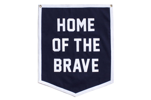 Home of the Brave Championship Banner
