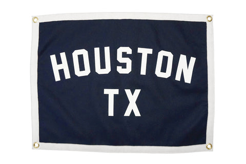 Houston, TX Camp Flag • Manready Mercantile Original
