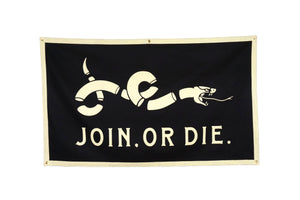 Join Or Die Banner • United By Blue x True Hand Society x Oxford Pennant Original