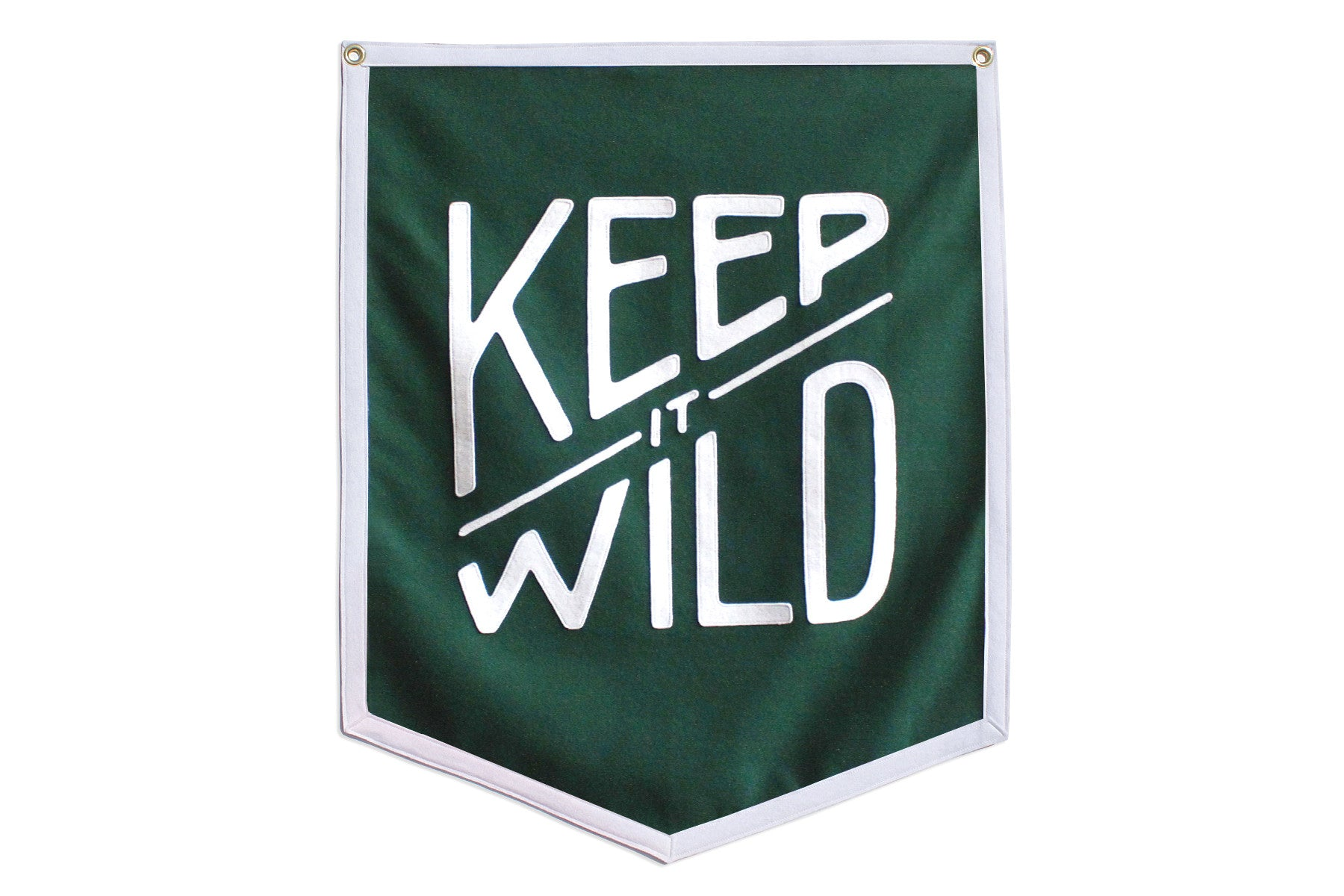 Oxford Pennant Keep It Wild Championship Banner