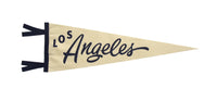 Los Angeles, CA Pennant - California • Oxford Pennant Original