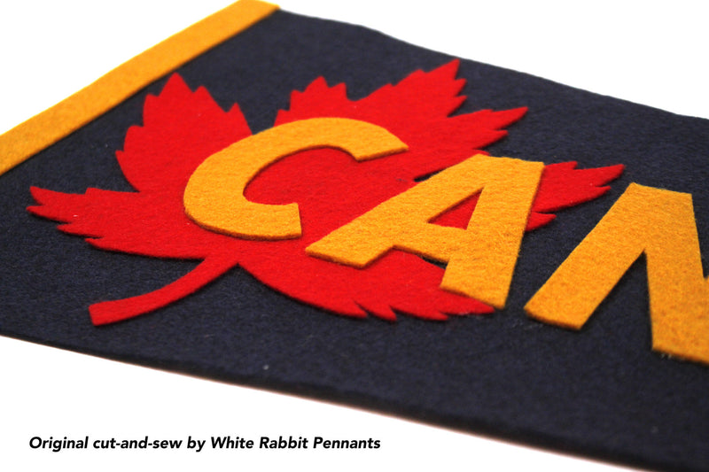 Canada Maple Leaf Pennant  - Sasha Odesse • Oxford Pennant Original