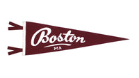 Boston, MA Pennant - Massachusetts • Oxford Pennant Original