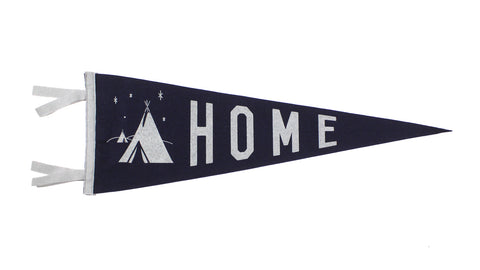 Home Pennant - Atomic Garden • Oxford Pennant Original