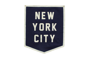 New York City Championship Banner - NYC • Oxford Pennant Original