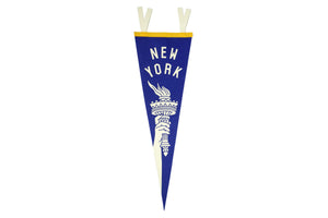 New York Torch Pennant • United By Blue x True Hand Society x Oxford Pennant Original