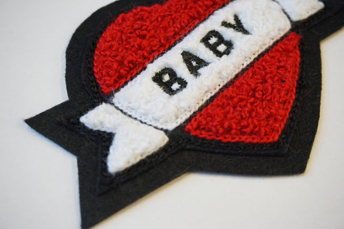 Baby Chenille Patch