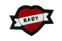 Oxford Pennant - Baby Chenille Patch