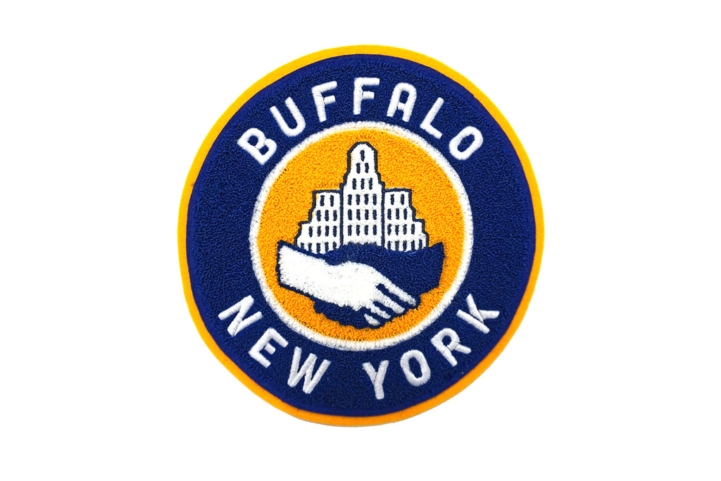 Oxford Pennant - Buffalo City Hall Chenille Patch