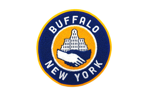 Buffalo City Hall Chenille Patch