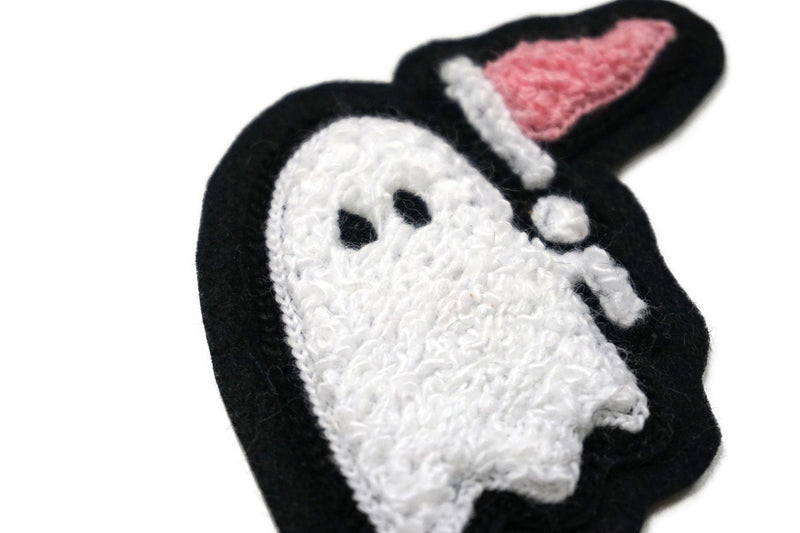 Oxford Pennant - Ghost Chenille Patch