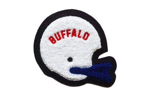 Buffalo Helmet Chenille Patch