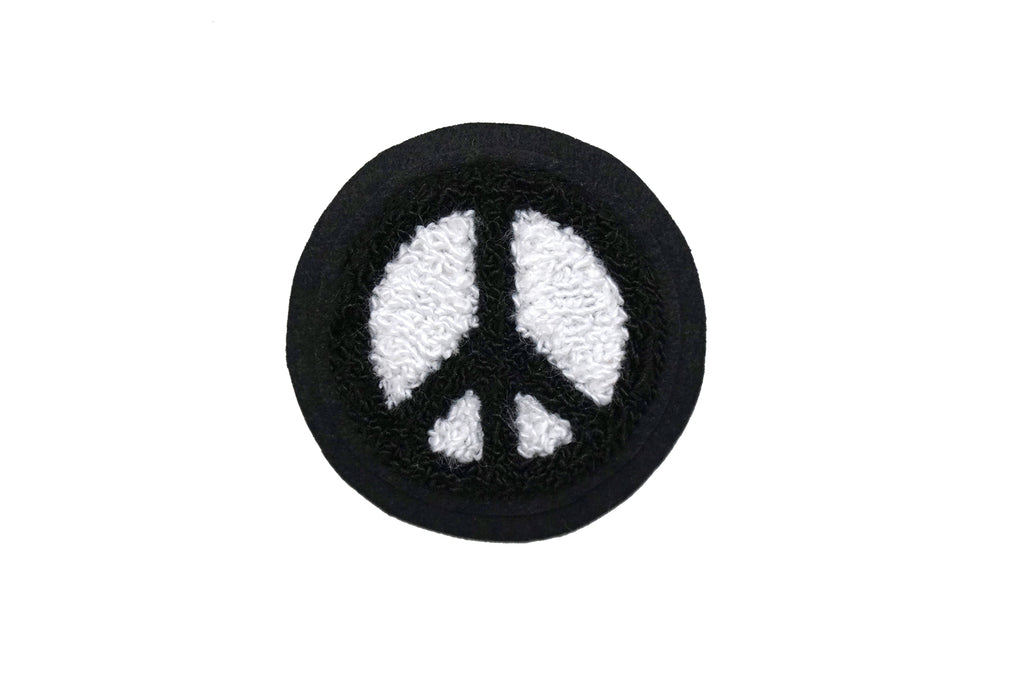 Oxford Pennant - Peace Sign Chenille Patch