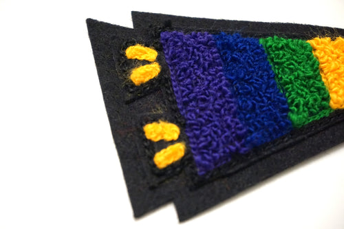 Pride Pennant Chenille Patch