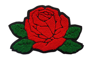 Oxford Pennant - Rose Chenille Patch