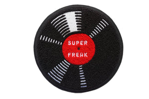 Oxford Pennant - Super Freak Chenille Patch