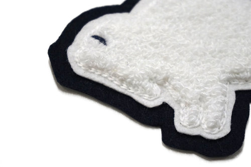 Buffalo Chenille Patch