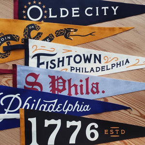 1776 Pennant • United By Blue x True Hand Society x Oxford Pennant Original