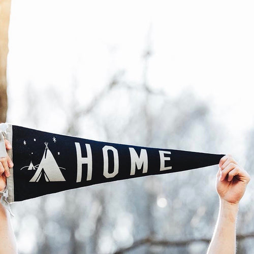 Home Pennant •  Atomic Garden x Oxford Pennant Original