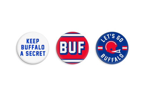 Buffalo Button Pack • Oxford Pennant Original